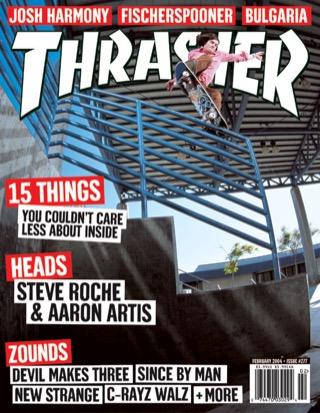 covers - Thrasher, February 2004