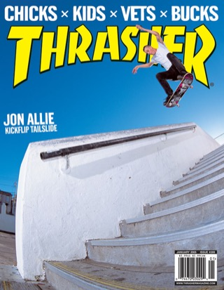 covers - Thrasher, January 2005