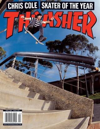 covers - Thrasher, April 2006
