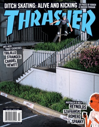 covers - Thrasher, July 2006