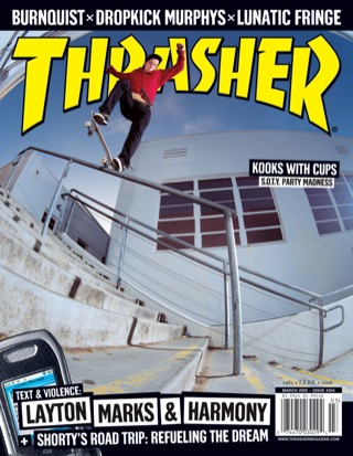 covers - Thrasher, March 2006