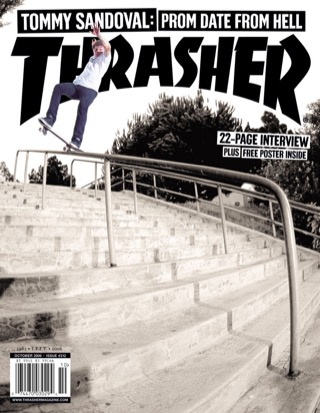 covers - Thrasher, October 2006