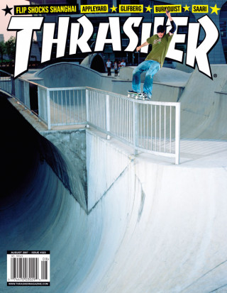 covers - Thrasher, August 2007