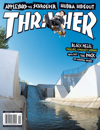 covers - Thrasher, January 2007