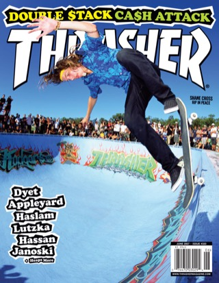 covers - Thrasher, June 2007