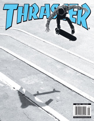covers - Thrasher, May 2007