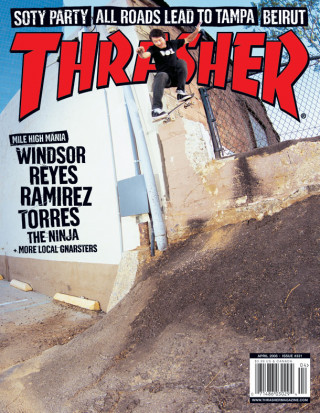 covers - Thrasher, April 2008