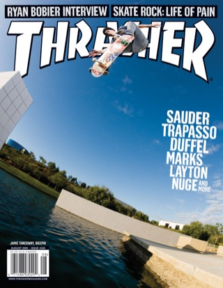 covers - Thrasher, August 2008