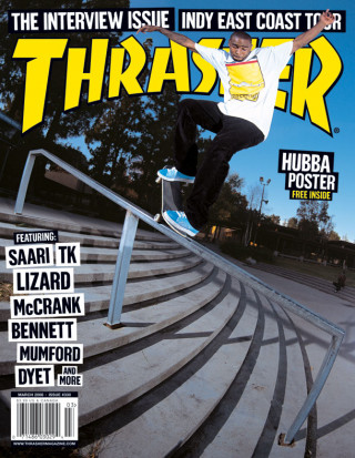 covers - Thrasher, March 2008