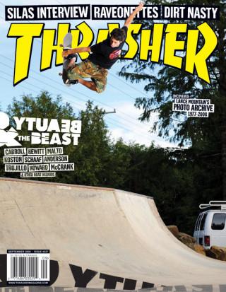 covers - Thrasher, September 2008
