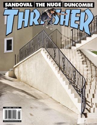 covers - Thrasher, June 2009