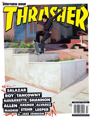 covers - Thrasher, March 2009