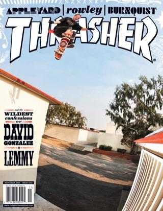 covers - Thrasher, November 2009