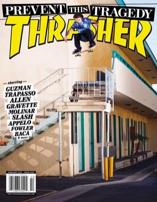 covers - Thrasher, February 2010