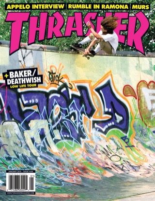 covers - Thrasher, January 2010