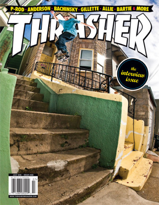covers - Thrasher, July 2010