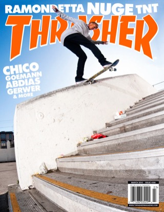 covers - Thrasher, March 2010