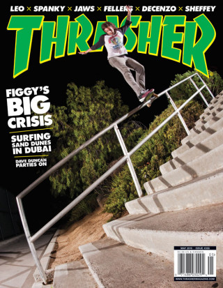covers - Thrasher, May 2010