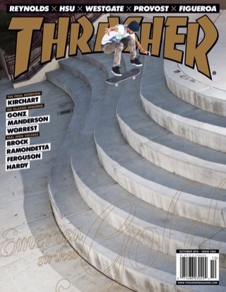 covers - Thrasher, October 2010