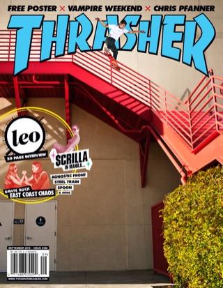 covers - Thrasher, September 2010