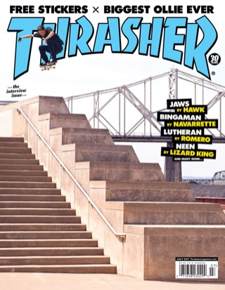 covers - Thrasher, July 2011
