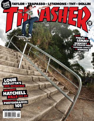 covers - Thrasher, June 2011