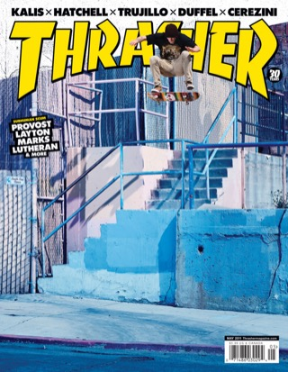 covers - Thrasher, May 2011