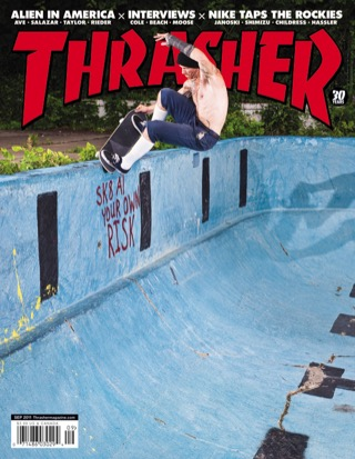 covers - Thrasher, September 2011