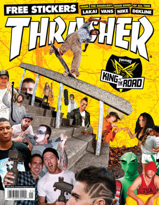 covers - Thrasher, January 2012