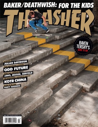 covers - Thrasher, March 2012