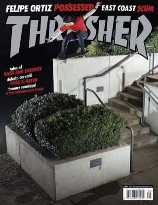 covers - Thrasher, May 2012