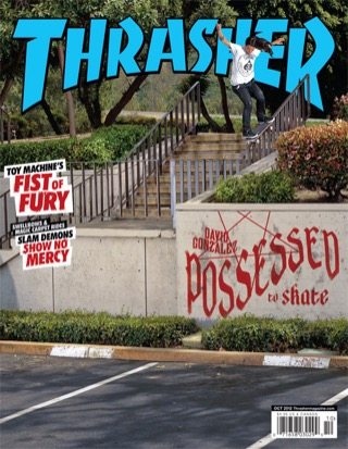 covers - Thrasher, October 2012
