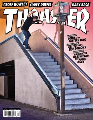 covers - Thrasher, September 2012
