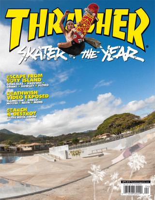 covers - Thrasher, April 2013