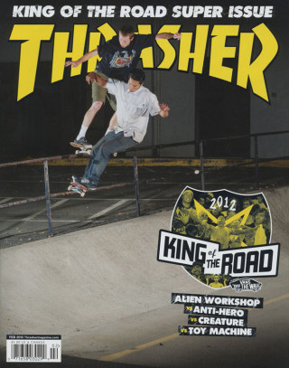 covers - Thrasher, February 2013