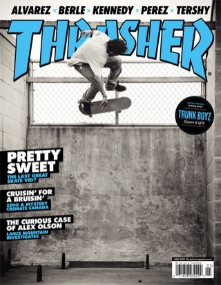 covers - Thrasher, January 2013