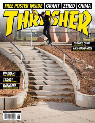 covers - Thrasher, June 2013