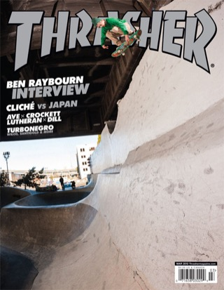 covers - Thrasher, March 2013