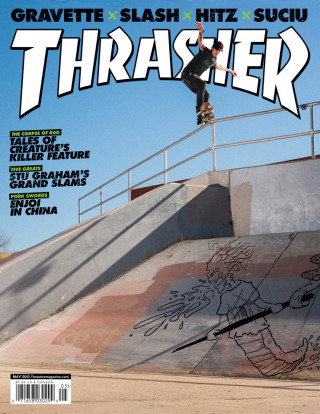 covers - Thrasher, May 2013