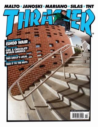 covers - Thrasher, November 2013