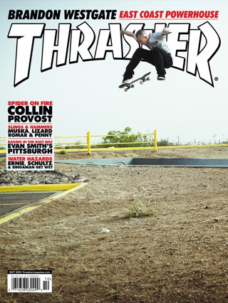 covers - Thrasher, October 2013