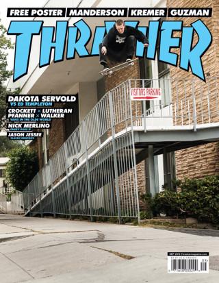 covers - Thrasher, September 2013