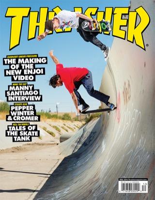 covers - Thrasher, December 2014