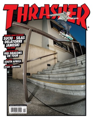 covers - Thrasher, January 2014