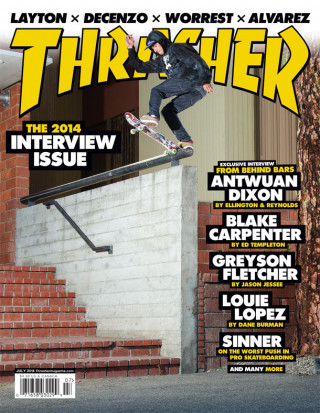 covers - Thrasher, July 2014