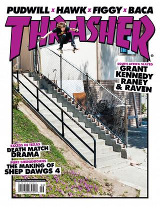 covers - Thrasher, June 2014