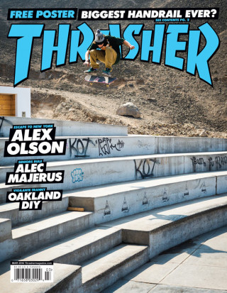 covers - Thrasher, March 2014