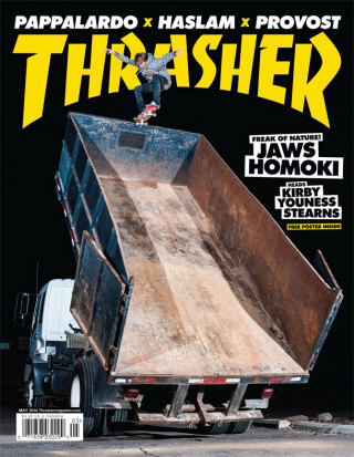 covers - Thrasher, May 2014