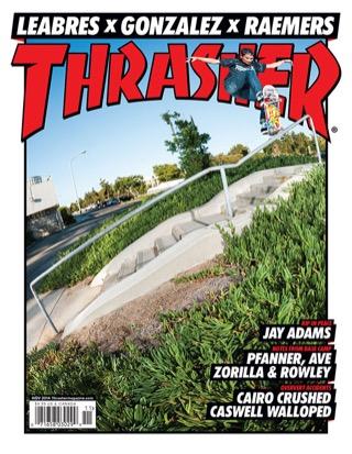 covers - Thrasher, November 2014