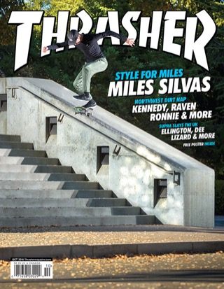 covers - Thrasher, October 2014